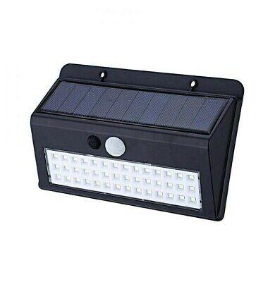 LAMPADA LED SOLARE DA ESTERNO GIARDINO FARETTO FOTOVOLTAICO SENSORE A 42 LED