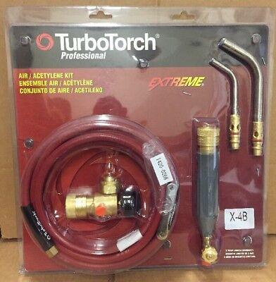 Turbotorch X-4b Torch Kit Swirl For B Tank Air Acetylene 0386-0336