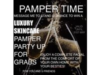 Chance to win a luxury skincare pamper treat!