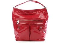 Marc by Marc Jacobs patent leather Faridah shoulder bag