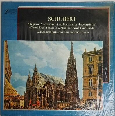 Schubert Allegro In A Minor Brendel   Crochet 4 Hands Turnabout Tv S 34516