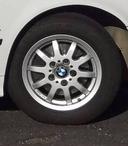 Factory BBS BMW wheels with v/good tyres Lindisfarne Clarence Area Preview