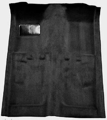 ACC BLACK 70-73 Ford Maverick 2-Door Automatic Molded Carpet - 2 Door Black Carpet