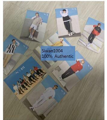 BTS (Bangtan Boys) Puma Turin Official Limited Photo Post card SET 8EA RARE