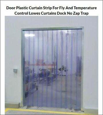 3 X 7 Strip Curtain Door 36x84 Cooler Freezer Walk In 6 Pvc Best Value