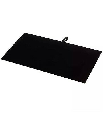 Luxurious Black Velvet Jewelry Display Pad