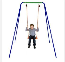 Brand new kids swing