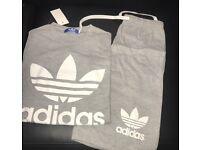 Grey /white Adidas