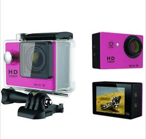 Go Pro Syle Action Camera - 1080 P - Full HD - Waterproof - WiFi