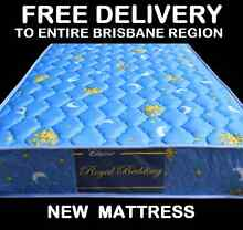 DELIVERED FREE Innerspring Mattress KING SINGLE Size - BRAND NEW New Farm Brisbane North East Preview