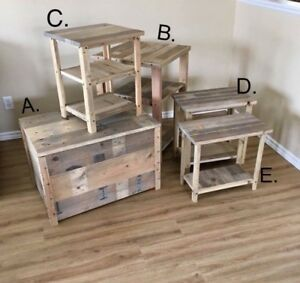 RECLAIMED Wood  5-Piece Living Room Set