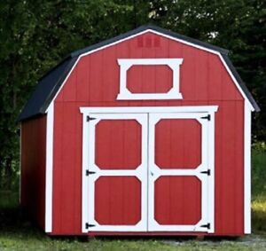 Shed - Lofted Barn   8'X10' up to 14'X40'. Engineer Certified