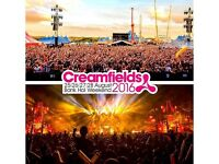 3 DAY GOLD CAMPING CREAMFIELDS TICKET