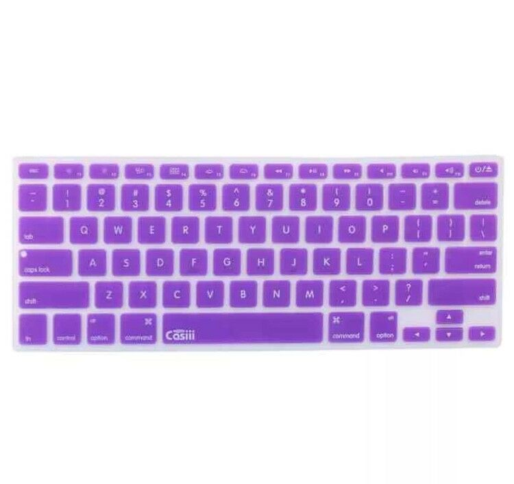 New! Casiii MacBook Pro Air Keyboard Thin Cover Protector Wi