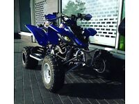 Yamaha RAPTOR road legal BARGAIN comes with log book and MOT
