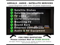 NS Aerials / CCTV / Satellite Services