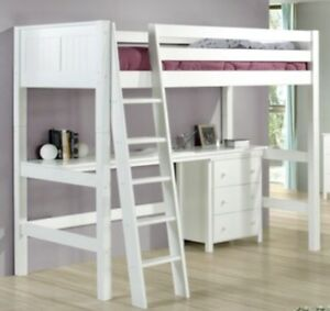 Loft bed  that converts to twin bed