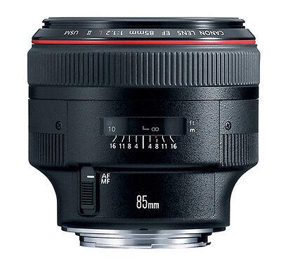 Canon EF 85 mm F/1.2 L II USM Telephoto Lens