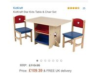 Star table and chsir set