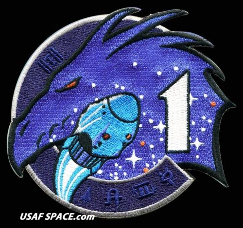 """Authentic SPACEX NASA CREW-1- Original AB Emblem ISS 4.25"""" Mission PATCH USA****"""