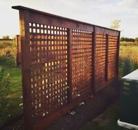 Custom Fencing and Post Hole Setting