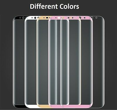 FULL COVER TEMPERED GLASS SCREEN PROTECTOR FOR GALAXY S9  S9 Plus S8 / S8 PLUS