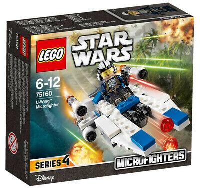 LEGO 75160 STAR WARS Microfighters Rebel U-Wing Fighter + Pilot Disney Set New