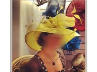 Fancy hat for wedding, horse races or royal events