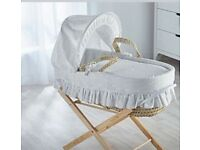 Moses basket & folding stand