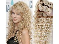 100% Russian Blonde Multipack Human Hair Extensions