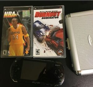 Psp with games all in great condition!