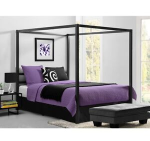 Brand new Queen canopy bed (still in the box)