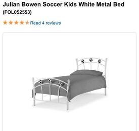 Julian Bowen Soccer kids single bed frame