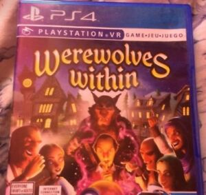 Werewolves within VR game for ps4