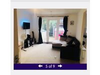 Large 2 bed ground floor flat in burford