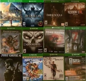 XBOX One Action and Adventure Games (Various Prices) `