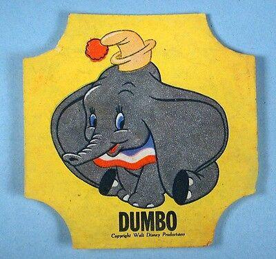 2 Donald Duck Bread Label Seals Dumbo & Pluto Walt Disney Prod 1950s Advertising