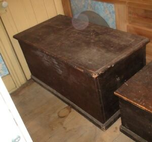 Antique Blanket Box Large