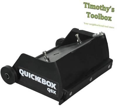 Tapetech Quickbox 6.5 Drywall Flat Finishing Box For Hot Mud Qb06-qsx New