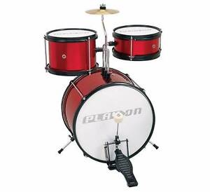 Real Music Drum Set great for beginners rrp150 Ingleburn Campbelltown Area Preview