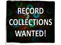 RECORD COLLECTIONS BOUGHT! Large or small - good prices paid for Rock, Jazz, Reggae, Soul, Indie...