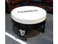 Stunning Refurbished Guinness Oak Hogshead Barrel Coffee Table Pub Man Cave - UK Delivery