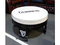Refurbished Guinness Oak Hogshead Barrel Coffee Table Pub Man Cave - UK Delivery