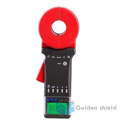 Etcr2100 A-clamp Earth Resistance Tester Resistance 1-199