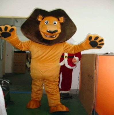 Lion Costume Party Dress Cosplay 1pc Mascot Animal Suit of Forest Parade Outsuit - Woodland Animal Costumes