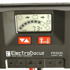 30A-Solar-controller-with-LCD-PR3030-12V-24V-autodetect-Steca-PWM-charger-charge