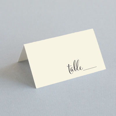 Tented Escort Cards, Wedding Place Cards, Seating Cards - Wedding Reception - Reception Place Cards