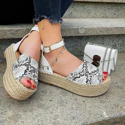 Espadrillas sandali ciabatte da donna bianche con cinturino alla caviglia bianca