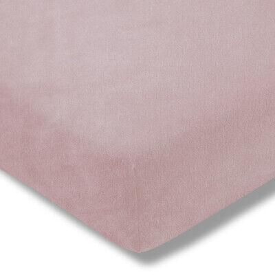 Spannbetttuch Samt Velours Estella 5700 400 Rosa 140x190-150x200 cm SALE
