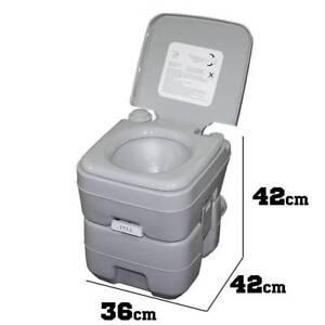 Portable Toilet Outdoor Camping Potty W Carry Bag Caravan